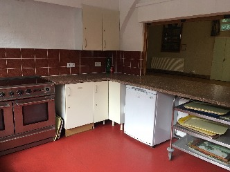 PAHall Fridge and Cooker